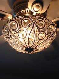 Ceiling Fan Lighting Fixtures Tired Of The Boring Ceiling Fan Light Kits Buy A Sparkly Flush