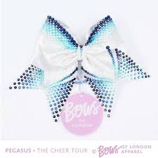 cheer bows uk bows of london on an exclusive pegasus bow to be won