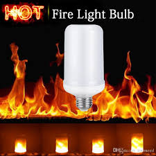 light bulbs that flicker like candles e27 2835 smd 7 5w led flame effect fire light bulbs flickering