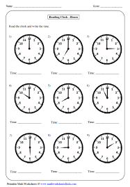how to tell time lessons tes teach