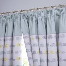 Nursery Blackout Curtains Uk by Beige Botanical Print Cotton Nursery Or Kids Room Grommet Curtains