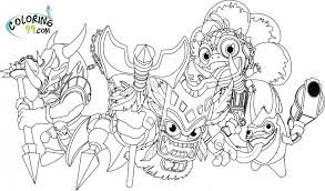 skylanders magic elemental coloring pages coloring pages foto von