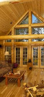 interior of log homes log homes by tomahawk