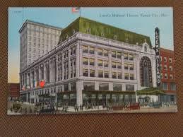 1917 postcard loews midland theater kansas city missouri mo hall