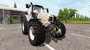 lamborghini truck lamborghini mach 230 t4i vrt stickerbomb for farming simulator 2017