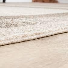 Einrichtung Teppich Wohnzimmer Teppich Wohnzimmer Webteppich Grau Beige Design Teppiche Edler