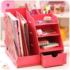 aliexpress com buy creative diy wooden desktop file magazine