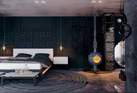 bedroom black and white bedroom ideas black walls and light