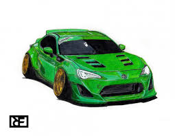 stanced cars drawing search results for toyota draw to drive