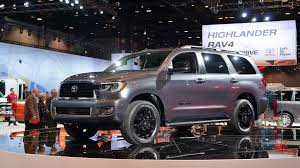 2018 toyota sequoia tundra trd sport models toughen up