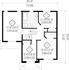 floor plans drawing traditional style house plan 3 beds 1 00 baths 1592 sq ft plan