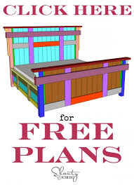 Woodworking Plans For Beds Free by Diy King Size Bed Free Plans Shanty 2 Chic