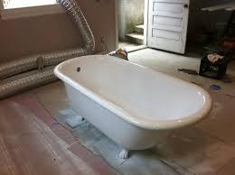 refinish cast iron bathtub bathtub refinishing before after bay state refinishing