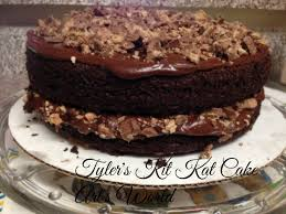 tyler u0027s kit kat cake u2013 arl u0027s world