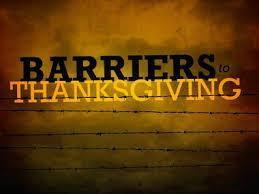 luke 17 11 19 barriers to thanksgiving sermons and sermon