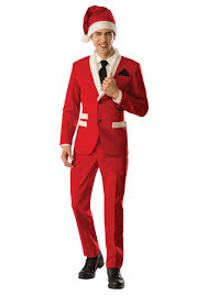 santa costumes men s christmas santa suit