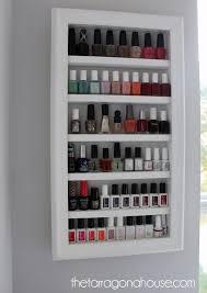 picture frame nail polish rack u2013 the tarragona house