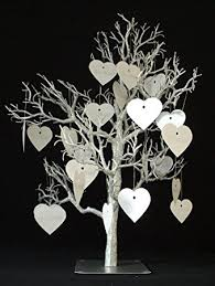 wedding wishes tree silver wedding wish wishing tree table decoration 32 inch