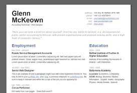 Resume With Color Best Wordpress Cv Resume Themes