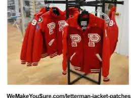 letterman jacket patches youtube