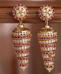 gold earrings for women images imitation jewellery gold earring for women retailer from new delhi