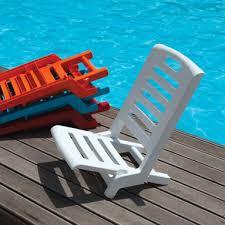 siege de plage pliante gecko mobilier et accessoires de cing stilio salon de jardin