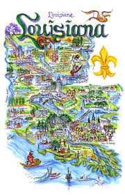 New Orleans State Map by 131 Best Louisiana Images On Pinterest Louisiana Cajun Recipes