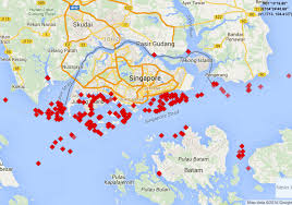 Traffic Map Houston Stunning Photos Of Huge Oil Supertanker Lines Forming