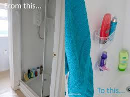 a beach bathroom makeover on a budget