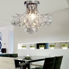 Dining Room Crystal Chandeliers Lighting 24 Crystal Chandelier For Modern Ceiling Brighten Your