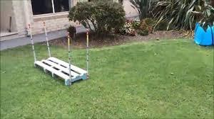 backyard dog agility do it yourself diy set hurdles jumps