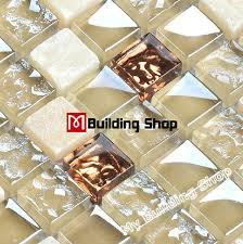 Stained Glass Backsplash by Stained Glass Mosaic Stone Backsplash Tile Kitchen Glass Tiles
