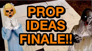 spirit halloween prop ideas 2017 finale youtube