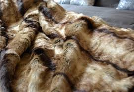 Faux Fox Fur Throw Scandinavian Style Bedrooms Inspiration Natural Bed Company