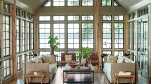 How To Decorate Tall Walls by Lake House Decorating Ideas Southern Living
