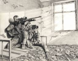 sketch artist u0027 soldier uses pencil to capture army life article