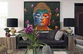 dining room canvas art beautiful buddha painting mixed media beautiful buddha painting mixed media paintings of buddha