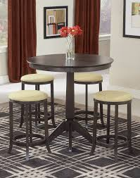 amazon com hillsdale tiburon pub table w 4 backless stools