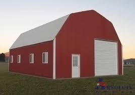 gambrel barn steel building