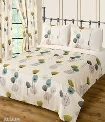 Poppy Bedding Teal Cream Colour Bedding Duvet Cover Set Stylish Poppy Floral