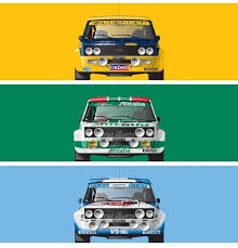 Fiat Abarth 131 Rally 1976 78 by 131 Abarth Rally