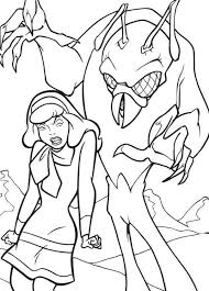 scooby doo halloween coloring pages u0027m working