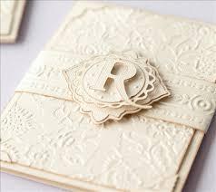 embossed wedding invitations wedding invitation ideas using cricut sle expressions