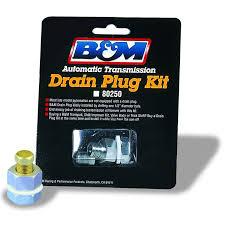 amazon com b u0026m 80250 automatic transmission universal drain plug