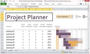 Gantt Chart Excel Template Free Best Gantt Chart Makers For Project Management