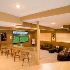 Paneling For Basement by Flooring Basement With Basement Bar And Wood Paneling For Walls