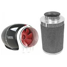 carbon filter fan for grow room vortex s line 8 inch 728 cfm phresh 750 carbon filter combo for
