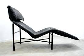 Black Chaise Lounge Articles With Metro Black Leather Chaise Lounge Tag Enchanting