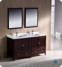 legion 60 inch rustic double sink bathroom vanity wk1860 marble