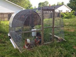 little country house diy chicken tractor